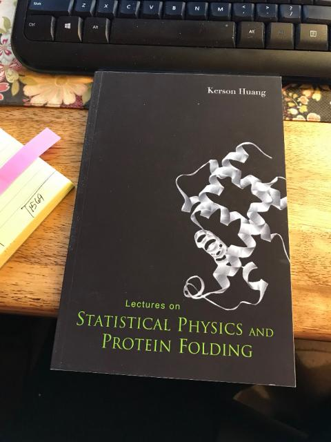 Statistical Mechanics and Protein Folding