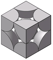 Simple Cubic Lattice